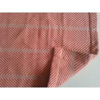 厂家供应精梳棉240*270cm大规格超柔人字纹棉毯NO.8786
