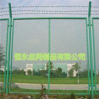 钢板网护栏@物流配送中心围栏、护栏钢板网@大量供应镇江钢板网护栏