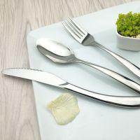 costa高档西餐餐具 不锈钢牛排刀叉勺套装四件套 酒店用品批发