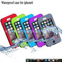 厂家新款iphone6按键式手机防水壳 超精准手机保护套 4防手机壳