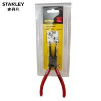 Stanley史丹利 五金工具挡圈钳 卡簧钳7寸弯嘴直嘴/内用外用钳子