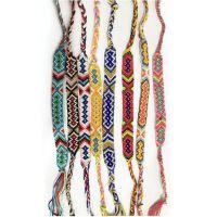 供应爆款尼泊尔民族风编织手链 友谊时尚男女士手链 diy饰品配件线材纯手工编织