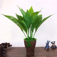 韩式仿真盆景迷你创意礼品绿色植物 淘宝爆款可爱家居仿真植物