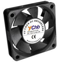 12v电脑显卡散热风扇 DC静音散热风扇 6015大风量直流散热