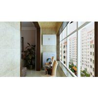 石家庄北城国际小区118平三室两厅装修效果图-温馨简约风格装修效果图