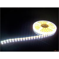 LED3528软灯条 IP65滴胶防水冷白光软灯条 3528白光软灯带 12V白板