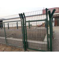 公园绿化带护栏网_草原绿色围栏网_浸塑养殖护栏网【冠成】