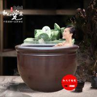 景德镇陶瓷泡澡缸 厂家定做洗浴大缸 和艺陶瓷