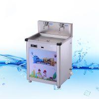 YD-2YE源动力牌不锈钢两龙头温开水防烫伤幼儿园专用饮水机