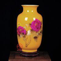 礼品花瓶定制 开业庆典礼品陶瓷小花瓶摆件 合元堂