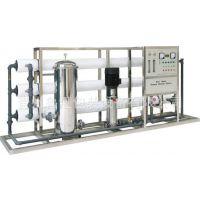 供应1吨双级纯净水生产设备 山东水处理设备价格 反渗透设备