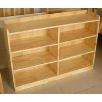 供应学生实木玩具柜 书包柜