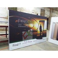 厂家定做手机专卖店背景墙灯箱尺寸明细制作图片效果