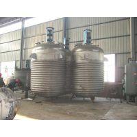 昌浩供应2000L外盘管反应釜 零距离加热反应罐