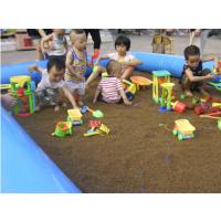 广东佛山小型充气玩沙池 儿童充气水池套装