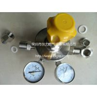 YQEG-224乙炔减压器 YQAr-03氩气减压器 不锈钢减压阀