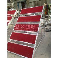 学校五层合唱台合影台阶架 铝合金钢铁移动折叠看台组合楼梯舞台架子