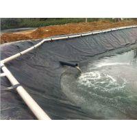宇龙黑膜沼气池现货直供防渗黑膜聚乙烯防渗膜施工专用环保养禽畜使用