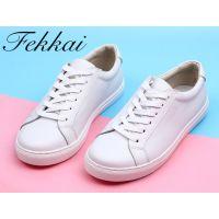 FEKKAI 小白鞋 休闲小白鞋 系带小白鞋
