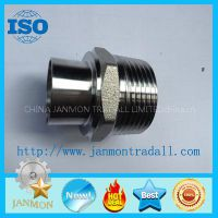 Stainless steel threading connecting end,Stainless steel threading connectors,Stainless steel connecting,Stainless steel couplings,Stainless steel pipe fittings,Threaded end connection