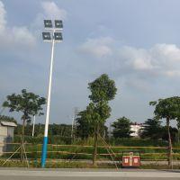 东莞市特价优质原料灯杆灯柱批发 Q235整体热镀锌喷塑高杆路灯采购
