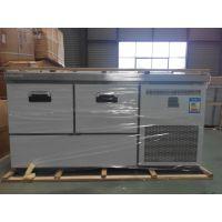 BX-65kg餐饮酒吧用工作台冷藏柜制冰机