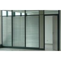 长沙展览馆铝合金玻璃隔断