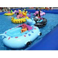 水上游艺设施碰碰船 机械定时动物电瓶游乐船
