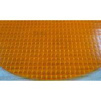0.8mm阻燃抗紫外线PVC夹网布门帘卷帘面料 KBD-A-157