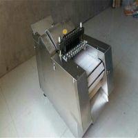 供应全自动切鸡块机家禽切丁机 不锈钢剁鸡块机 商用切骨机