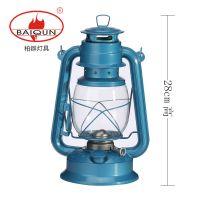复古桅灯船灯 露营帐篷灯 怀旧手提式煤油灯 户外生存装备