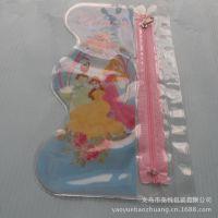 精致塑料包装 透明儿童拉链手袋儿童卡通 欢迎来样订做 批发