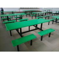 河源分体餐桌八人坐学校食堂就餐桌 茂名玻璃钢餐桌椅组合吃饭桌