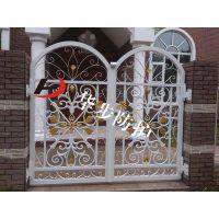铝材铝艺别墅大门,高档小区铝合金防护大门