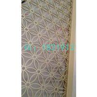 铝板雕刻隔断浙江售楼部装修必选欧式铝板雕花屏风