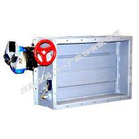 供应石家庄阀门一厂生产的环球牌气动防火阀 (FHF WSq-K DN600×600)