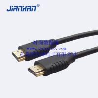 厂家直销厂家HDMI线音视频连接线时尚数据线高保真江涵佛山