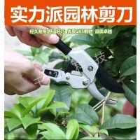 台湾进口轮式省力剪刀 修枝剪 园林园艺剪 果树剪 树枝剪 剪枝剪 粗枝剪