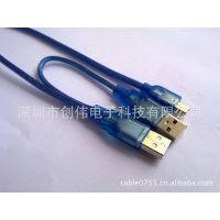 深圳 创伟 供应高层屏蔽USB移动硬盘盒数据线 MINI5P-2a移动数据线 (图)