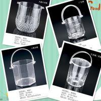 供应亚克力水晶大冰桶 塑料冰桶厂家直销 透明桶