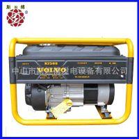长期生产 2.5KW汽油发电机 沃尔沃小型家用单三相手摇电启动