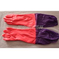加长加绒保暖乳胶手套 洗碗洗衣防水耐油耐酸碱劳保防护手套