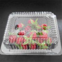 一斤装透明塑料水果盒500g装 草莓包装盒樱桃包装盒整件包邮