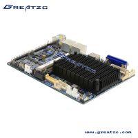 3.5英寸无风扇工控主板ZC-EN2807DL.双网卡设计采用Baytrial 超低功耗CPU