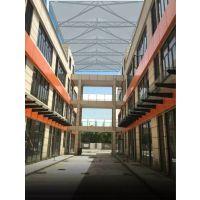 小区屋顶张拉膜安装、仓库推拉棚制作、阻燃防紫外线遮阳棚直销