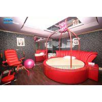 红床-情趣电动床-吊杠红床-酒店宾馆圆床-情趣家具订做-上海漫炫厂家