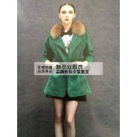 杭州茜可可欧时力品牌折扣女装尾货批发一手货源