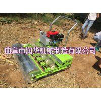 大葱育苗播种机 油菜菠菜精播机 手扶式洋葱播种机