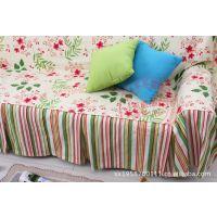 高档整张田园布艺沙发巾 组合沙发罩 定做 批发