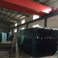 供应济南恒保5mm-19mm防火钢化玻璃厂家 价格 消防检测验收
